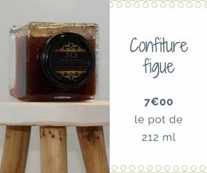 Confiture figue JG Bocaux